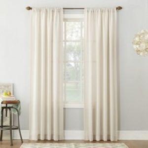 Threshold Sheer Curtain Panel